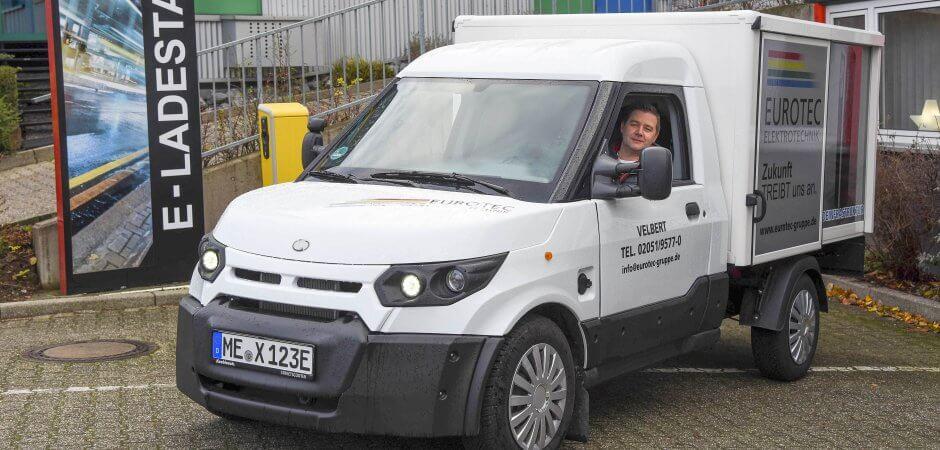 WAZ –  Velberter Unternehmer setzt auf E-Mobilität